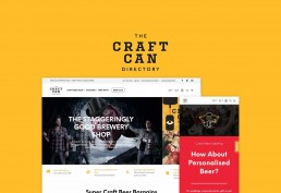 Craft Can Directory WooCommerce Theme Development