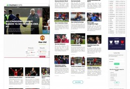 Tanzania Sports WordPress Theme Development