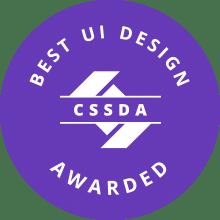 CSS Design Awards Best UI Design Award