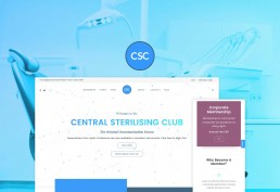Central Sterilising Club WordPress Membership Development