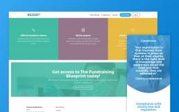 Fundraising Blueprint Website
